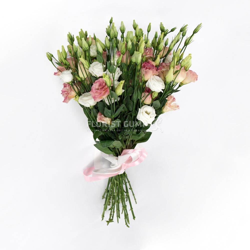 Лизиантус розовый цветов